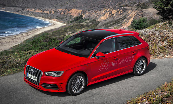 audi a3 sportback e tron 2014 preis f r plug in hybrid. Black Bedroom Furniture Sets. Home Design Ideas