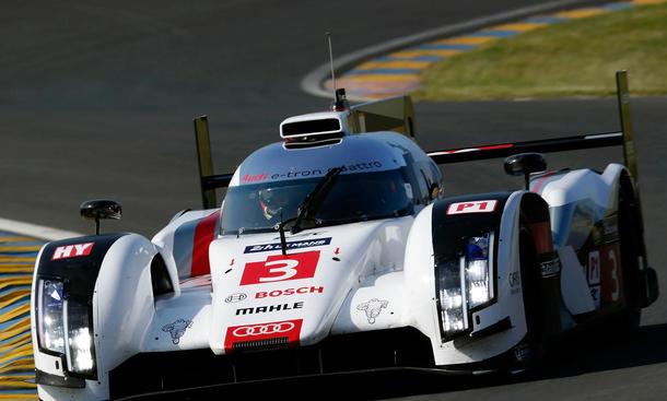 Audi R18 e tron quattro 2014 Le Mans 24 Stunden Rennen