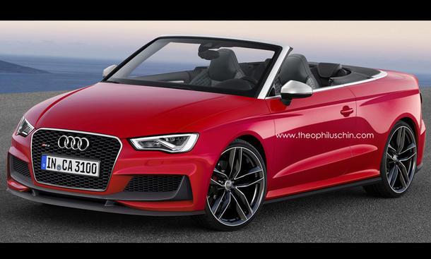 Audi RS3 Cabrio Studie Konzeptfahrzeug 2014 Theophilus Chin