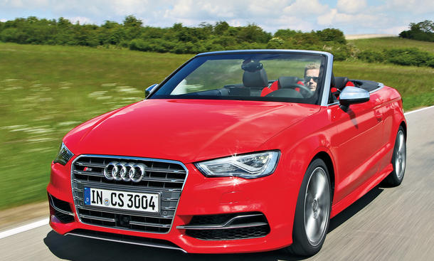 Audi S3 Cabriolet Test Allrad-Cabrio technische Daten Sportler Bilder