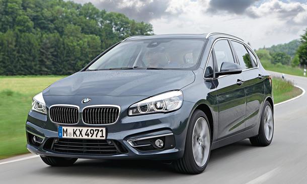 BMW 2er Active Tourer Fahrbericht Mitfahrt Van Frontantrieb Bilder