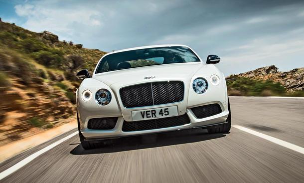 Bentley Continental GT V8 S Coupe Test Luxus Bilder