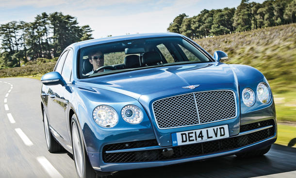 Bentley Flying Spur V8 Test Fahrbericht Luxusliner Bilder