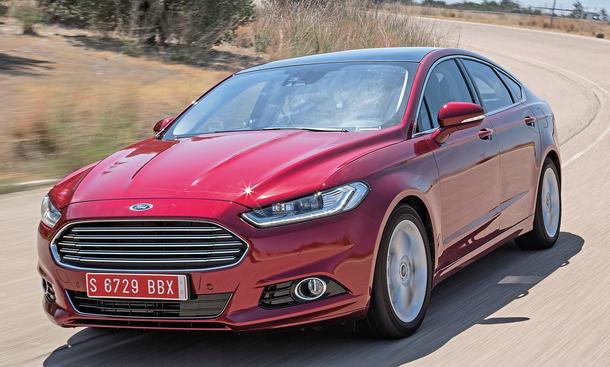 Ford Mondeo Qualitätssicherung Abnahmefahrt Erprobung Mittelklasse Fahrbericht Bilder