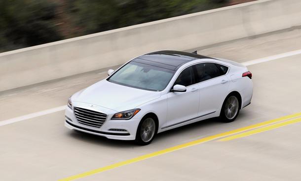 Hyundai Genesis 2014 technische Daten Markteinführung Sportlimousine obere Mittelklasse