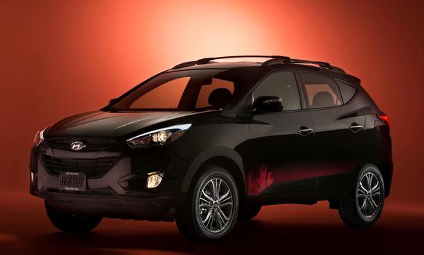 Hyundai Tucson The walking dead zombie sondermodell 2014 SUV Geländewagen
