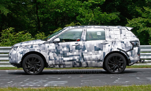 2014 - [Land Rover] Discovery Sport [L550] - Page 4 Land-Rover-Discovery-Sport-Erlkoenig-01