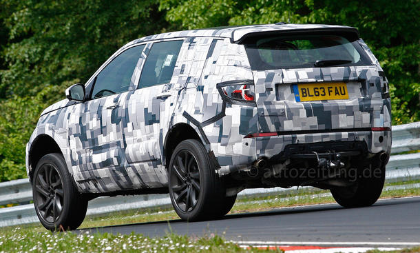 2014 - [Land Rover] Discovery Sport [L550] - Page 4 Land-Rover-Discovery-Sport-Erlkoenig-02