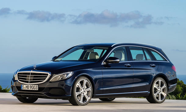 Mercedes C-Klasse T-Modell Neuheiten Kombi Vorschau Bilder