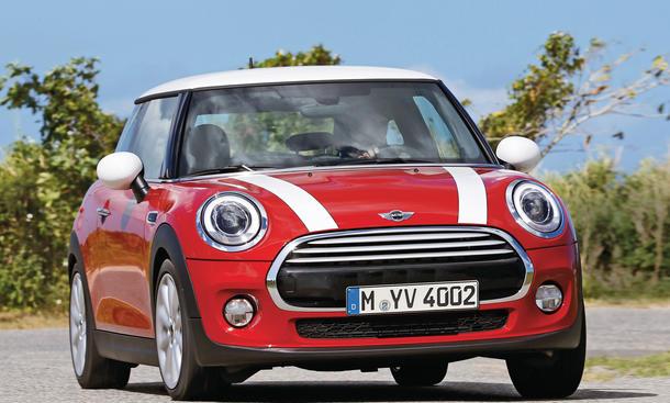 Mini Cooper D Test Autozeitungde