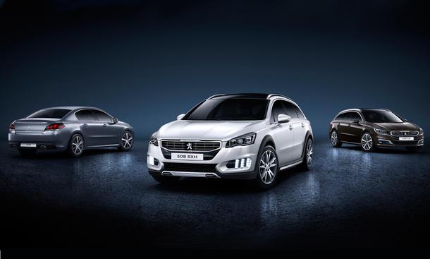 Peugeot 508 Facelift 2014 Markteinführung Mittelklasse technische Daten Premiere
