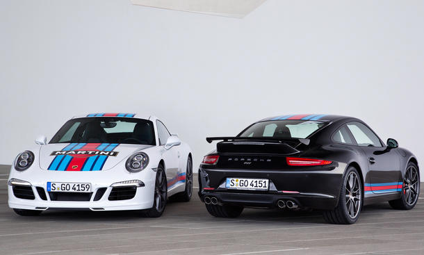 Porsche 911 S Martini Racing Edition 2014 Sondermodell 991