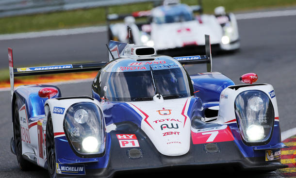 Toyota TS040 Hybrid 2014 Le Mans 24 Stunden Rennen