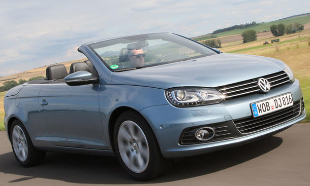 Günstige Cabrio 2014 Rangliste Top Ten VW Eos 1.4 TSI