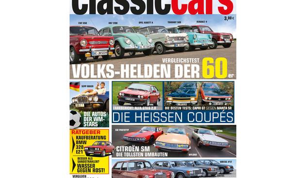 AUTO ZEITUNG Classic Cars 07 2014 Heft Vorschau Cover