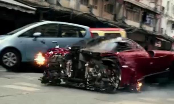 Frisch aus dem Netz: Pagani Huayra in Transformers 4