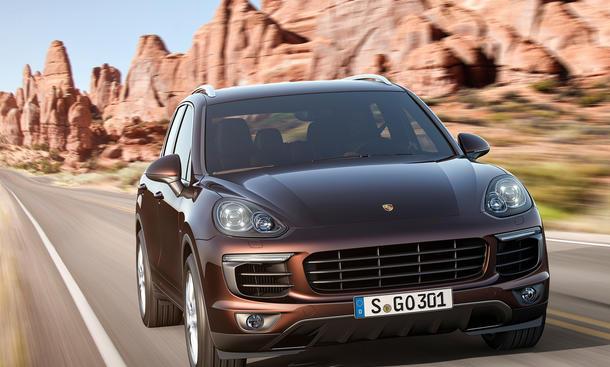 2015 Porsche Cayenne Facelift SUV Modellpflege Neuheiten