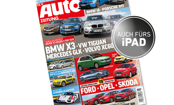 AUTOZEITUNG 15/2014 Heft-Vorschau Cover