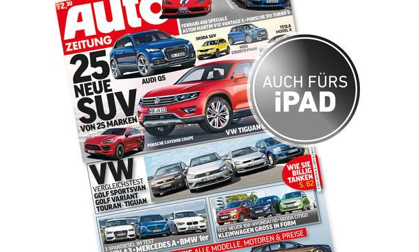 Auto Zeitung 17/2014 Heft-Vorschau Cover