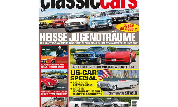 AUTO ZEITUNG CLASSIC CARS 8/2014: Heft-Vorschau