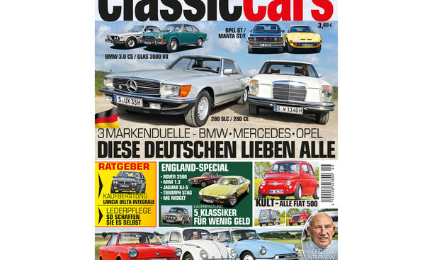 AUTO ZEITUNG Classic Cars 09 2014 Heft Vorschau Cover