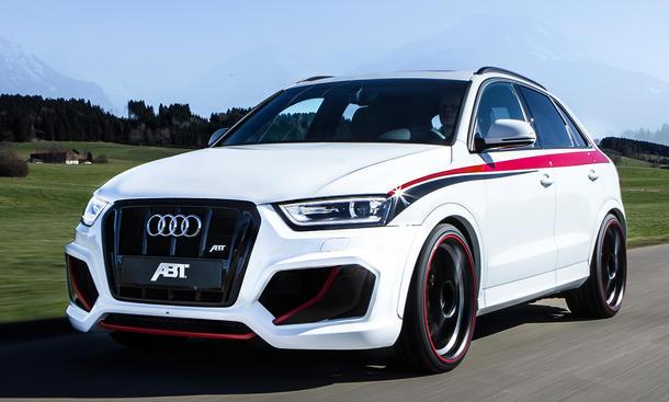 Abt Audi RS Q3 SUV Leistungssteigerung 410 PS Fünfzylinder 2.5 TFSI