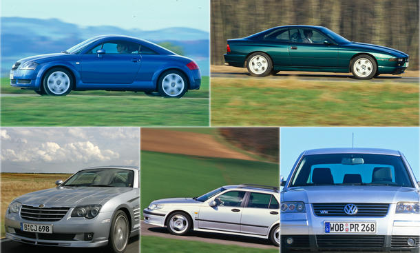 Audi TT BMW 850 CSi Chrysler Crossfire SRT-6 Saab 9-5 Aero VW Passat W8 Ratgeber Klassiker Bilder technische Daten