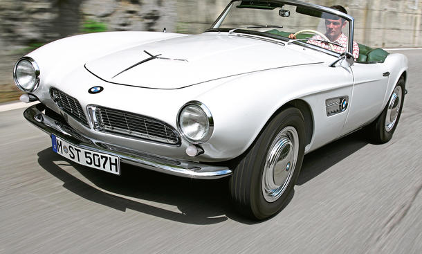 BMW 507 Cabrio Roadster Oldtimer Ikone Bilder technische Daten