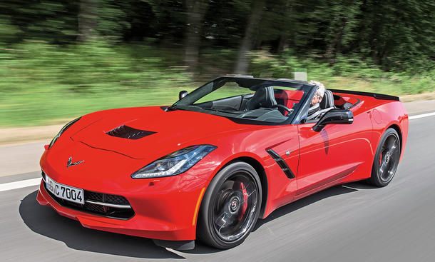 Chevrolet Corvette C7 Stingray Cabrio Faszination Test Fahrbericht Bilder