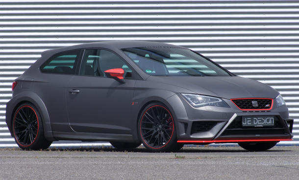 JE Design Seat Leon Cupra 2014 Tuning 5F Widebody Kit