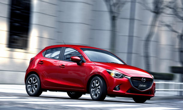 Mazda2 2015 Pariser Autosalon 2014 Premiere Kleinwagen KODO-Design Skyactiv Motoren Marktstart
