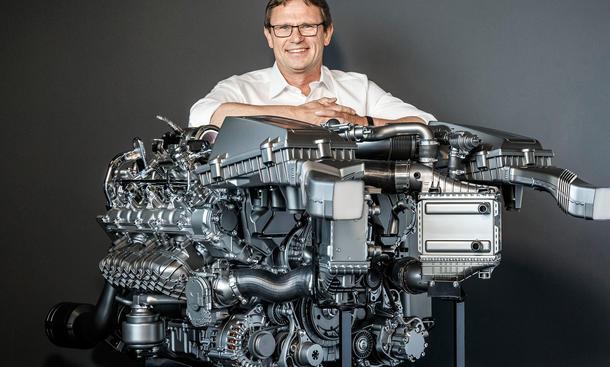 Technik-Check 4,0-Liter V8-Biturbo Motor Mercedes AMG GT C 63
