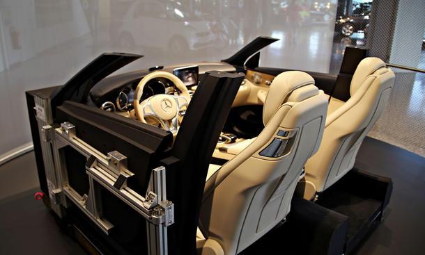 Mercedes c klasse cabrio 2016 innenraum steht im mercedes for Innenraum design