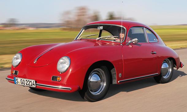 Porsche 356 A 1600 Super Coupe Fahrbericht Bilder technische Daten