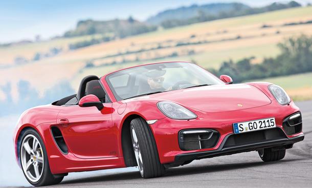Porsche Boxster GTS 2014 Topmodell Roadster Test Fahrbericht