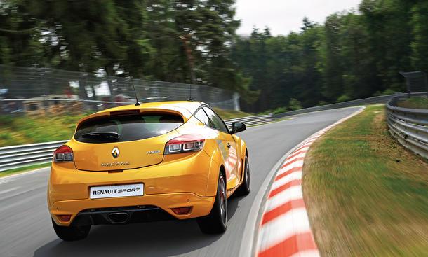 Renault Megane RS 275 Trophy Nürburgring Test Fahrbericht Bilder