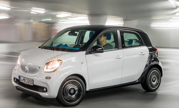 Smart ForFour 2014 Pariser Salon Kleinwagen 09