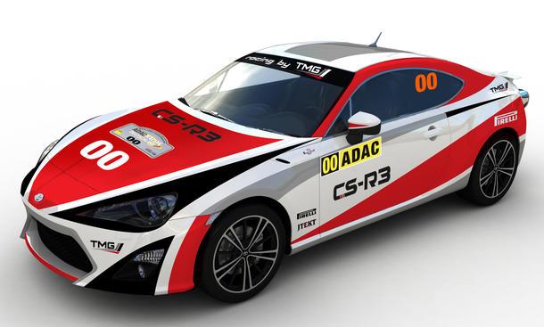 Toyota GT86 Rallye Deutschland 2014 CS-R3 Premiere Motorsport Bilder
