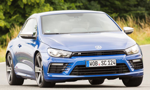 VW Scirocco R 2014 Facelift Test Fahrbericht Sportcoupé Kompaktklasse Bilder