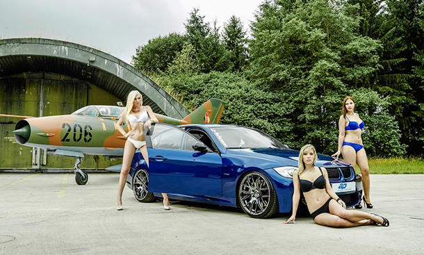 ap Sportfahrwerke Girl Aktion 2014 Making of Shooting Erotik Tuning