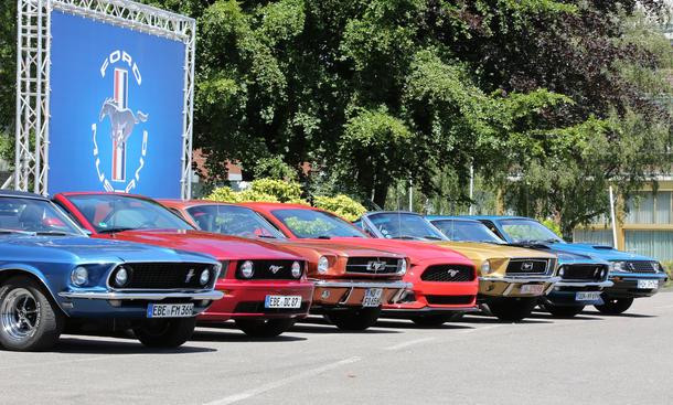Ford Mustang 2015 Generationen Vergleich Cabrio Modelle 05