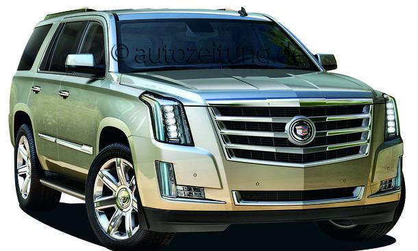 2015 Cadillac Escalade SUV Neuheiten Offroader Bilder