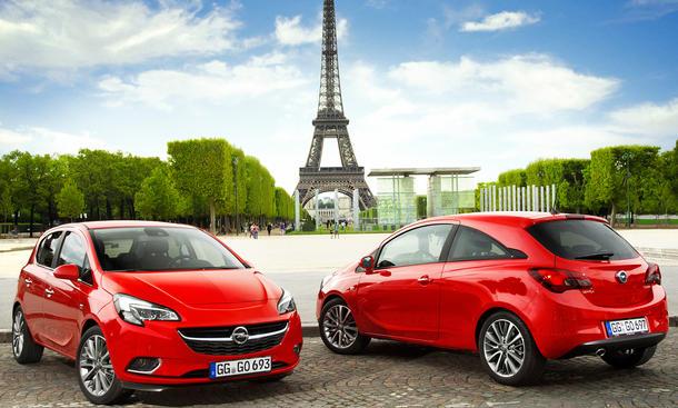 2015 Opel Corsa Preis Motoren Technik Preise Paris 2014