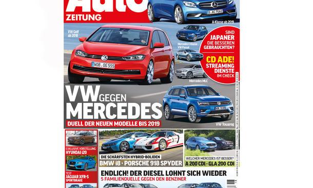 AUTO ZEITUNG 18/2014 Heft-Vorschau Cover