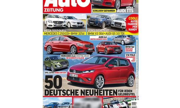 AUTO ZEITUNG 19/2014 Heft-Vorschau Cover