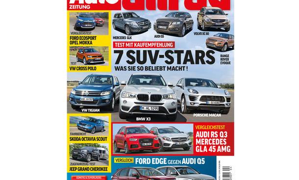 AUTO ZEITUNG Allrad 04/2014 Vorschau Cover
