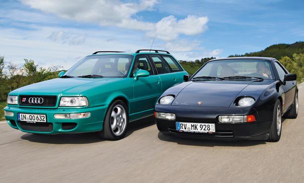 Audi RS2 Avant vs. Porsche 928 S4 Clubsport: Kaufberatung und Vergleich