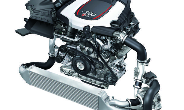 Audi V6 Diesel mit elektro-Turbo