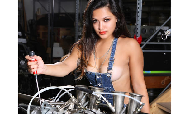 Autokalender 2015 Making of Werkstatt Edition Erotik Cars Girls