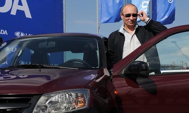 Automarkt Russland Sanktionen Import-Stopp EU Autos Putin